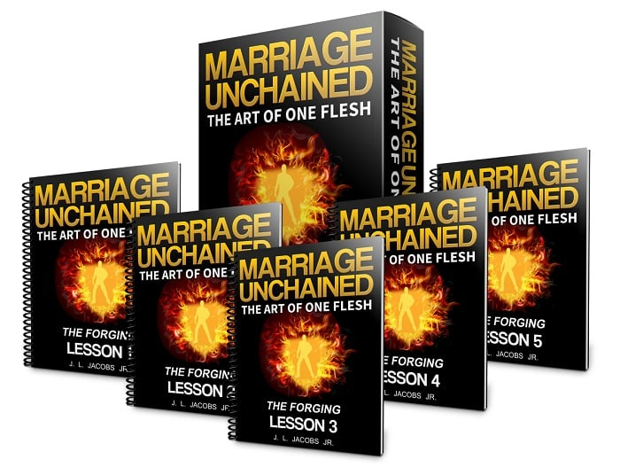 Five lessons filled with the marriage unchained philosophy compacted into a two week email course