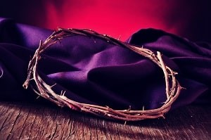 As a husband fasting and prayer in your marriage is vital. This sacrifice (purple silk cloth with Christ's thorns on top) daily will divorce off of your tail.