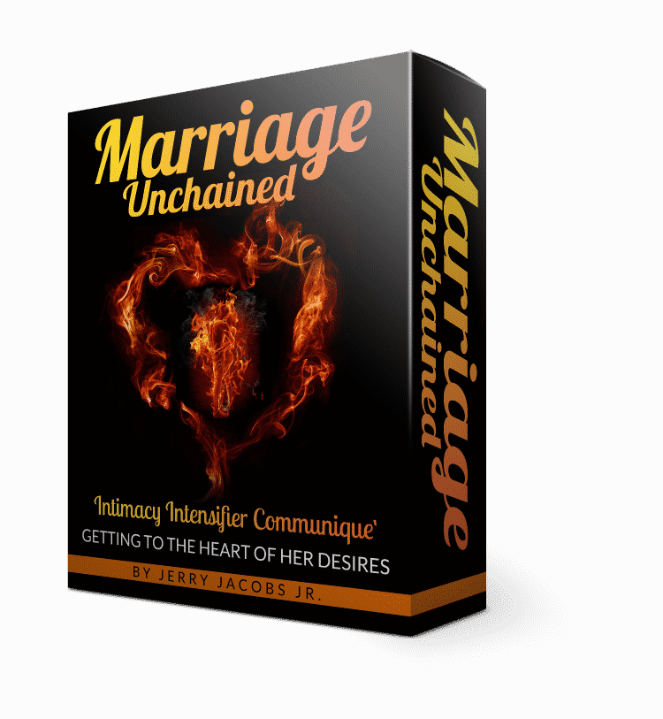 Learning how to reconnect with your spouse is hard and should be worked on (product box)