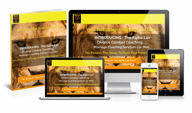 "Marriage advice for men Breach ""The Alpha Lair"" to enhance your marriage (product lessons)"